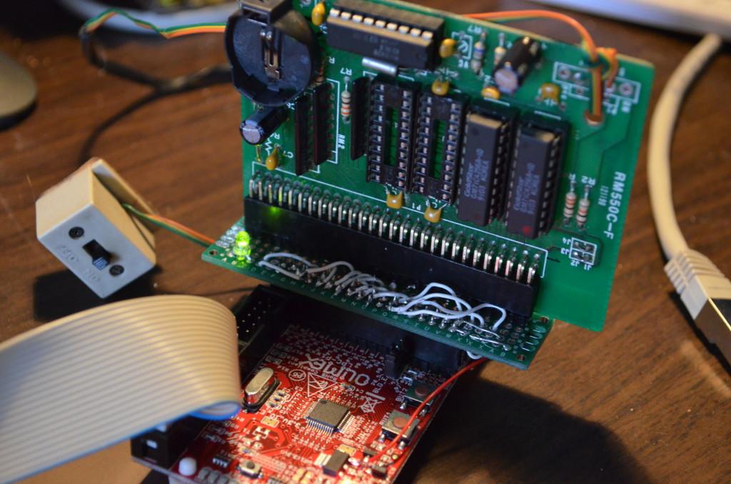 Amiga DRAM test circuit